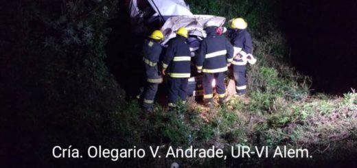 Despiste con heridos en Cerro Azul