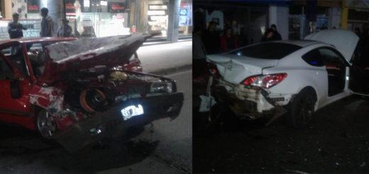 """Picada en la avenida Uruguay de Posadas: los conductores de Clio y el Gol están detenidos por """"lesiones culposas"""""""
