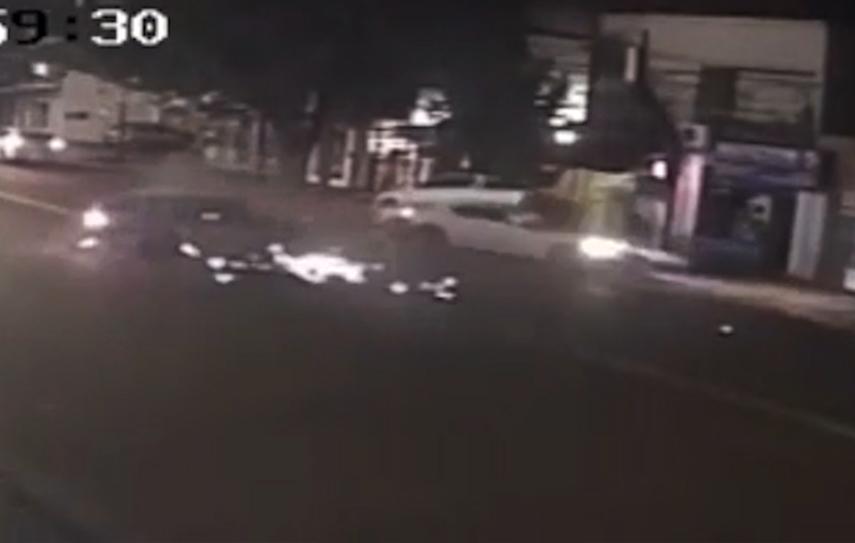Picada en Posadas: un nuevo video muestra el momento justo del impacto