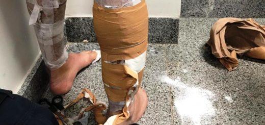 Un ciudadano argentino fue capturado con casi 2 kilos de cocaína en el aeropuerto de Foz de Iguazú