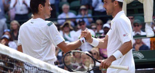 Pella dejó todo pero se despidió del gran Slam: la semifinal de Wimbledon la disputarán Nadal con Federer y Nole con Agut