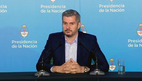 """Marcos Peña: """"El esfuerzo de los últimos tres años y medio augura un horizonte de muchas décadas de desarrollo y crecimiento"""""""
