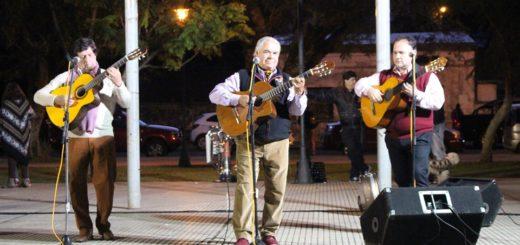 Se recordó un nuevo aniversario de la bandera de Posadas, en el cuarto tramo de la Costanera