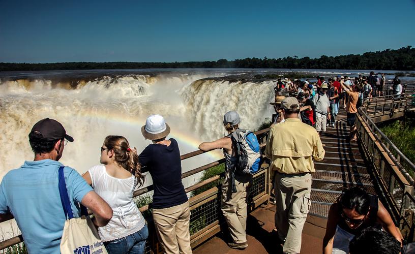 La llegada de turistas extranjeros creció un 6,6% en mayo