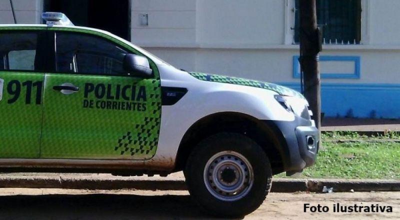 Corrientes: hallaron un cuerpo completamente quemado arriba de una fogata