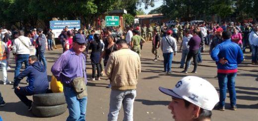 """Conflicto con mototaxis en el puente: desde el Centro de Fronteras aseguran que """"no se los trata mal, solamente buscan que cumplan las reglas"""""""