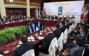 Argentina encabeza desde este lunes, la Cumbre del Mercosur tras el acuerdo con la Unión Europea