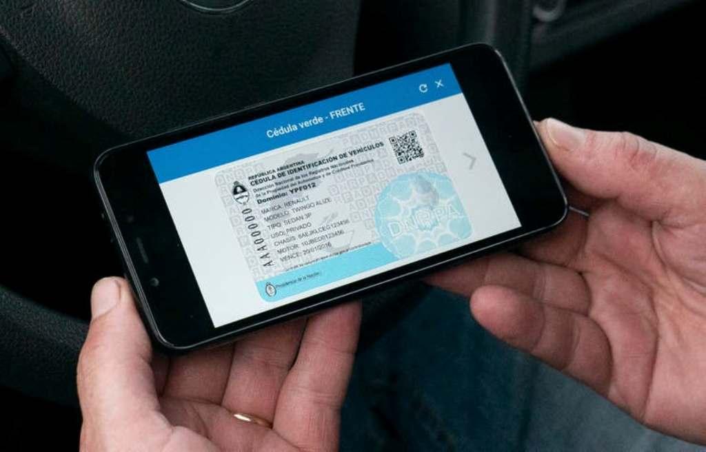 Todos los documentos del auto están disponibles en formato digital