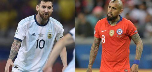 Argentina va en busca del tercer lugar de la Copa América frente a Chile