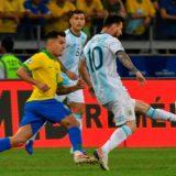 Copa América: así sonó el himno argentino en la previa del partido contra Brasil
