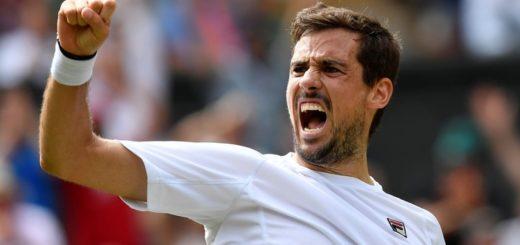 Pella va por la heróica ante Raonic para seguir avanzando en Wimbledon