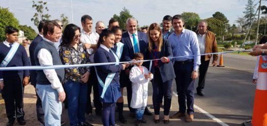 El Gobierno Nacional inauguró la rehabilitación integral de la Ruta 12 entre Paso de la Patria e Itatí