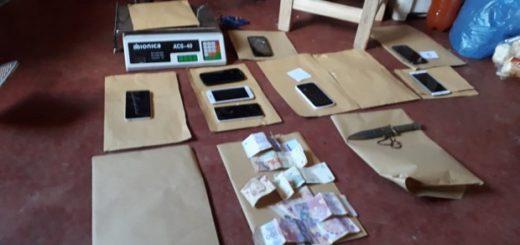 La Policía desmanteló tres kioscos-narcos, secuestró estupefacientes, dinero en efectivo y detuvo a dos personas en Oberá