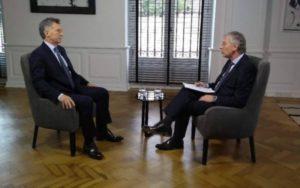 """Mauricio Macri: """"Lo que está en juego en esta elección es la democracia"""""""