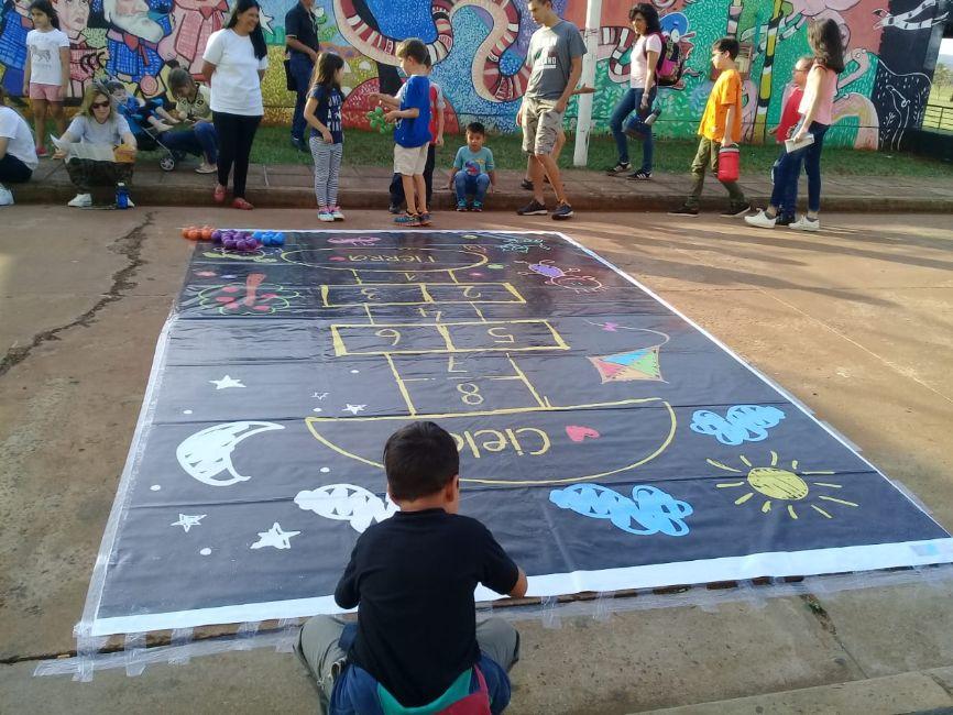 Decenas de familias disfrutaron del inicio de las vacaciones en el Parque del Conocimiento