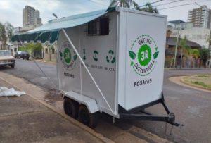 Presentan el primer depósito móvil de residuos reciclables limpios y secos