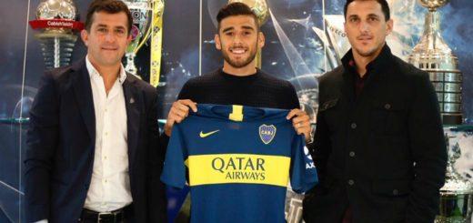 Boca: firmó Salvio y mañana será presentado junto a los otros refuerzos xeneizes