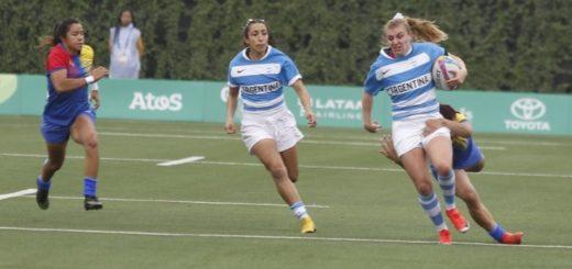 Rugby: el seleccionado femenino comenzó los Panamericanos con una derrota