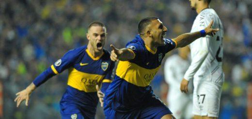 Copa Libertadores: Boca venció 2-0 a Paranaense y ahora enfrentará a Liga de Quito en cuartos