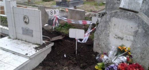 Robaron el cadáver de un bebé del cementerio de Miramar y creen que fue usado para un ritual