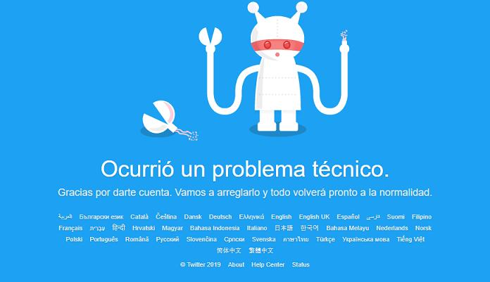 La red social twitter experimenta fallas en Argentina y varios países del mundo