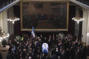 Falleció el expresidente de la Argentina Fernando de la Rúa y todo el arco político lo despidió en el Congreso