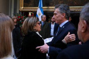 Fallecimiento de De La Rúa: Macri y la primera dama Juliana Awada despidieron al ex presidente en el Congreso
