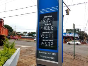 Aumento del combustible: en Posadas ya modificaron sus valores YPF y Shell
