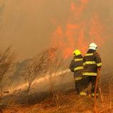 Alerta máxima por riesgo de incendios: en Jardín América quemaron accidentalmente un malezal en una zona de viviendas