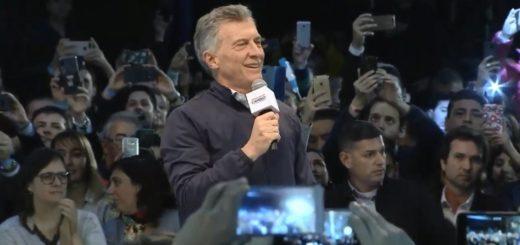 """Macri, en Córdoba: """"La Argentina que soñamos está en el futuro, no en el pasado"""""""