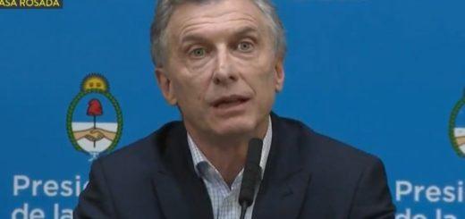"""Mauricio Macri reconoció que perdió por el """"voto bronca"""" y culpó al kirchnerismo por el desplome de los mercados"""