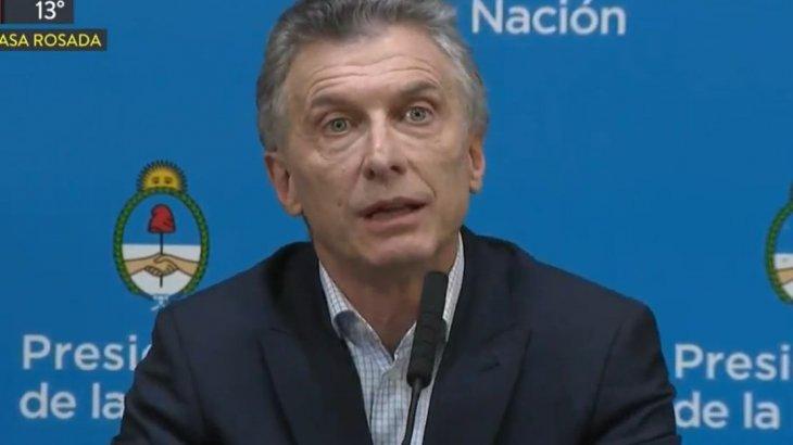 Mauricio Macri reconoció que perdió por el «voto bronca» y culpó al kirchnerismo por el desplome de los mercados