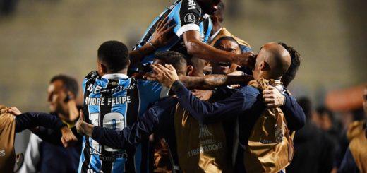 Gremio festejó en Sao Paulo: dio vuelta la serie frente a Palmeiras y es el primer semifinalista de la Libertadores