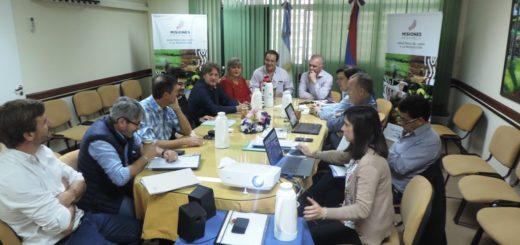 José Luis Garay se reunió con Carlos Arce en el Ministerio del Agro y la Producción