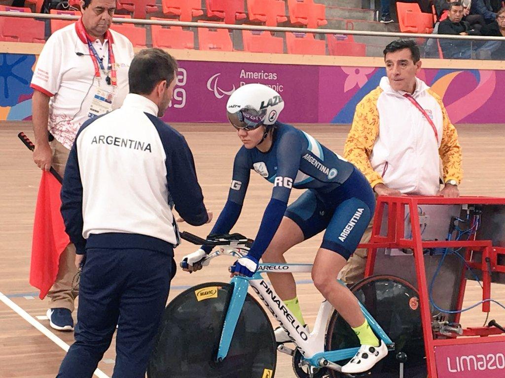 Mariela Delgado logró su segunda medalla en los Juegos Parapanamericanos