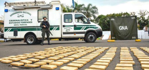 A través del Operativo Frontera, Gendarmería secuestró casi media tonelada de droga en Misiones