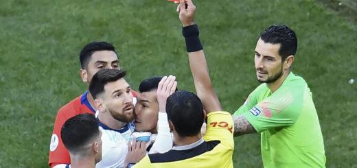 La Conmebol sancionó a Messi con tres meses de suspensión y 50 mil dólares de multa