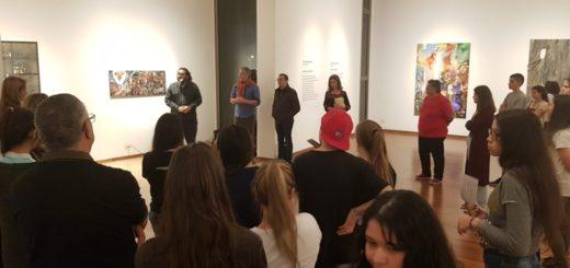 Se inauguró la muestra del XI Premio Nacional de Pintura en Oberá