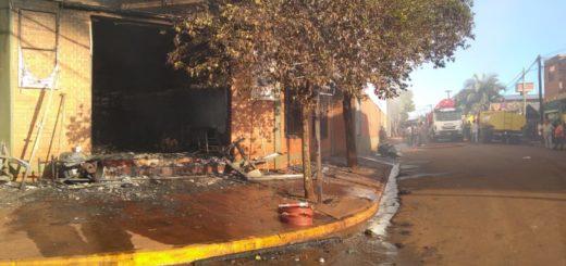 Pérdidas totales por el incendio en la ferretería GH de Garuhapé