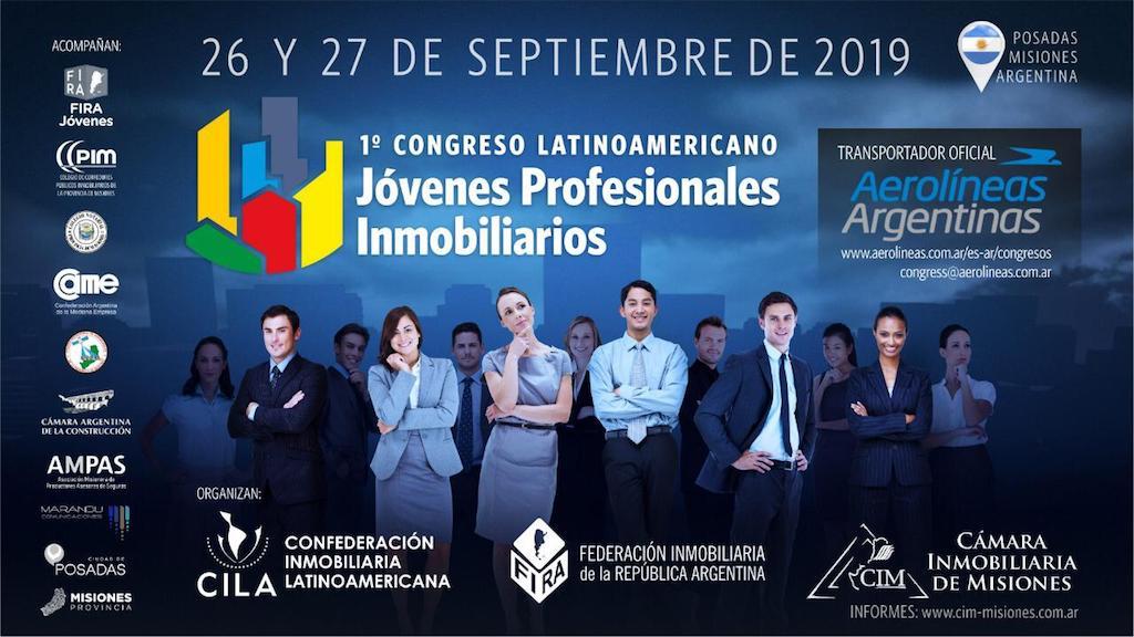 Prestigiosos profesionales participarán del I Congreso Latinoamericano de Jóvenes Inmobiliarios de la Provincia