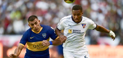 Boca busca liquidar la serie frente a Liga de Quito y avanzar a semifinales de la Copa Libertadores