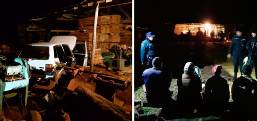 Mojón Grande: la Policía recuperó un auto robado, secuestró dos motos y detuvo a cinco personas