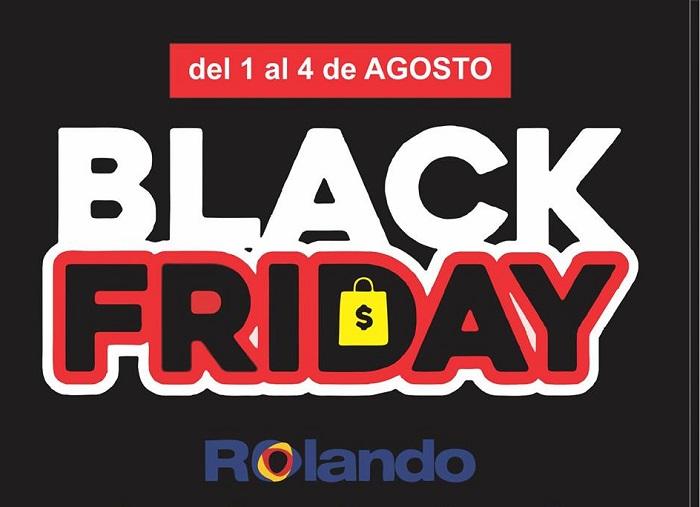 Rolando se suma al Black Friday del 1 al 4 de agosto