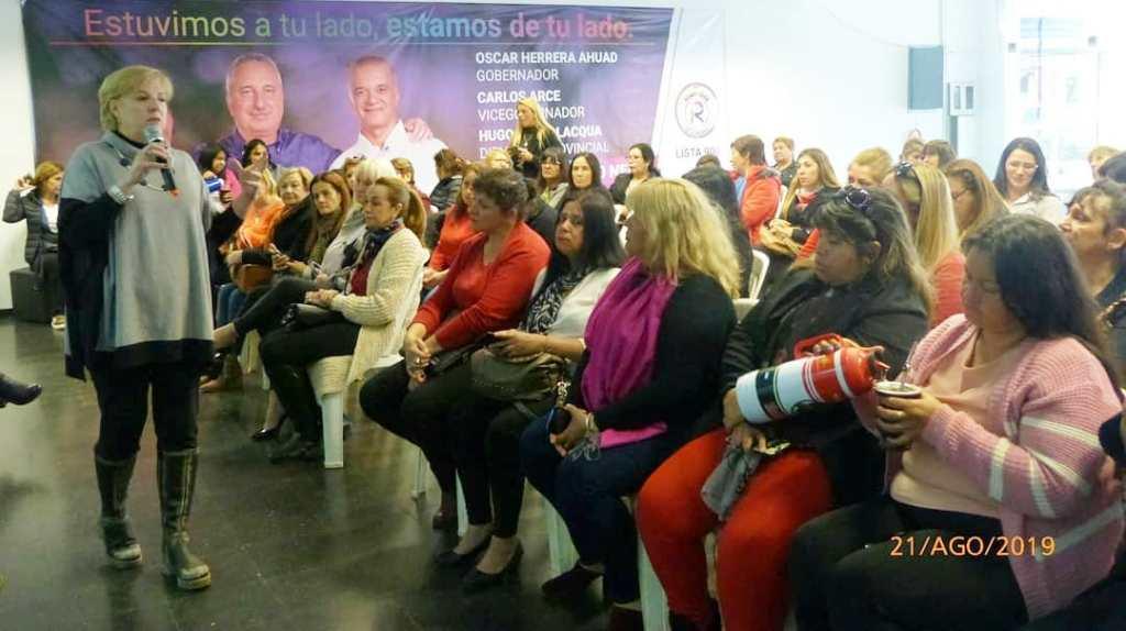 Se realizó un nuevo encuentro de la Red de Mujeres de la Concordia