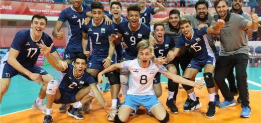 Vóley: con el misionero Wilson Acosta, Argentina avanzó a cuartos en el Mundial Sub 19 de Túnez