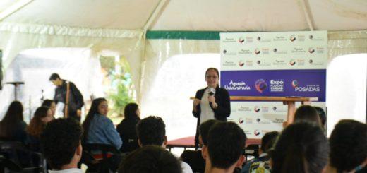 Una lluvia de ofertas académicas en la apertura de la Expo Posadas Ciudad Universitaria