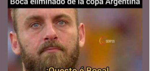 Tras la eliminación de Boca ante Almagro aparecieron los memes: De Rossi y Macri, las principales víctimas