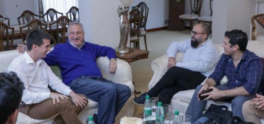 Passalacqua recibió a desarrolladores de videojuegos que brindarán capacitación en el Polo TIC Misiones