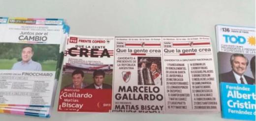 La boleta de River en las PASO que fue furor: Marcelo Gallardo presidente