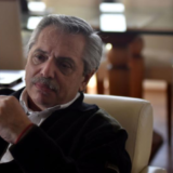 """Alberto Fernández, tras hablar con Macri: """"Tuvimos una buena charla y le manifesté mi voluntad de ayudar"""""""